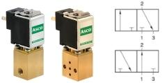 3/2-Wege Mikro-Magnetventile NC NO US
