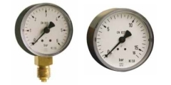 Kunststoff Manometer