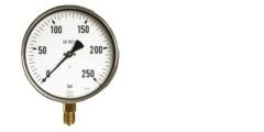 Industrie Edelstahl Manometer