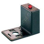 Entstörglied für Ventilstecker, 24V AC/DC, Varistor Überspannungsschutz, Bauform A, LED rot