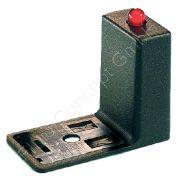 Entstörglied für Ventilstecker, 250V AC/DC, Varistor Überspannungsschutz, Erdrichtung H6, Bauform B Industrie, LED rot