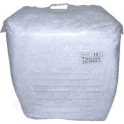 Industrie-Putzlappen DIN 61650, Typ Trikot weiß, 10 kg Ballen