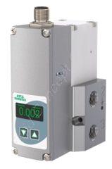Proportionalventil zur Druckregelung, ASCO Sentronic G617, G 1/4 Zoll, DN 4, 3/2-Wege, Aluminium, 24V/DC, 0-6bar, Dichtung NBR, Ausgang Digital, Eingang Analog IN, Display, Sollwert/Istwert 0-10V